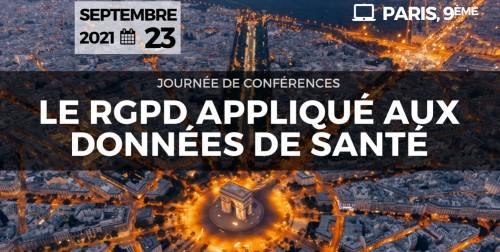 3ème Congrès du RGPD appliqué aux données de Santé